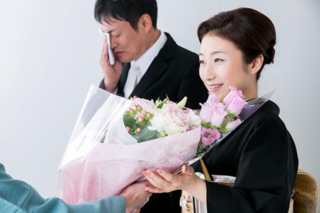 結婚式代理出席,Mother Agency attendance,母親代行